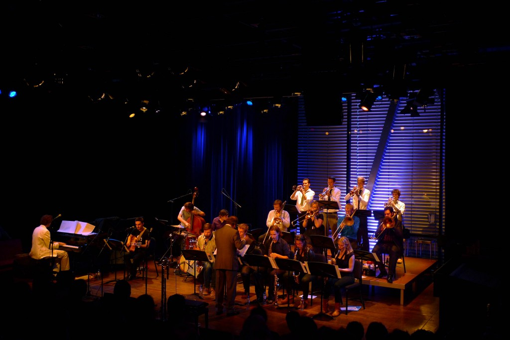 The Jazzmania at the 2012 25th anniversary at the Bimhuis, Amsterdam