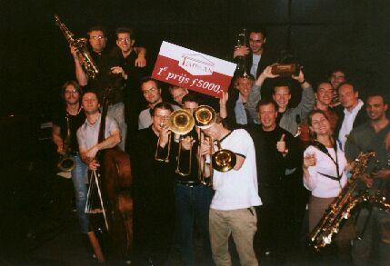 Prize winning Jazzmania Big Band